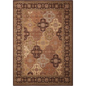 "9'6"" x 13' Multicolor Rectangle Rug"