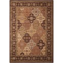 "Nourison Somerset 9'6"" x 13' Multicolor Rectangle Rug - Item Number: ST63 MTC 96X13"