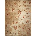 "Nourison Somerset 5'3"" x 7'5"" Multicolor Rectangle Rug - Item Number: ST64 MTC 53X75"