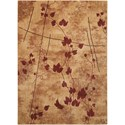"Nourison Somerset 3'6""X5'6""  Rug - Item Number: ST70 LATTE 36X56"