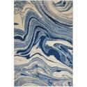"""Nourison Somerset 7'9"""" x 10'10"""" Light Blue Rectangle Rug - Item Number: ST749 LTBLU 79X1010"""