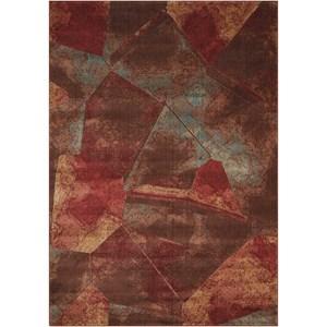 "Nourison Somerset 2' x 2'9"" Multicolor Rectangle Rug"