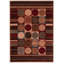 "Nourison Somerset 5'3"" x 7'5"" Multicolor Rectangle Rug - Item Number: ST80 MTC 53X75"