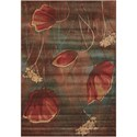"Nourison Somerset 2' x 2'9"" Multicolor Rectangle Rug - Item Number: ST86 MTC 2X29"