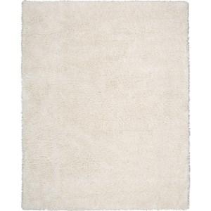 """Nourison Splendor 7'6"""" x 9'6"""" White Area Rug"""