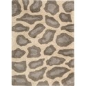 "Nourison Splendor 2'3"" x 3'9"" Beige Area Rug - Item Number: 01147"