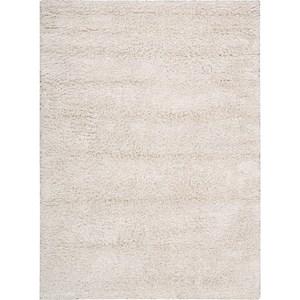 Nourison Splendor 5' x 7' White Area Rug