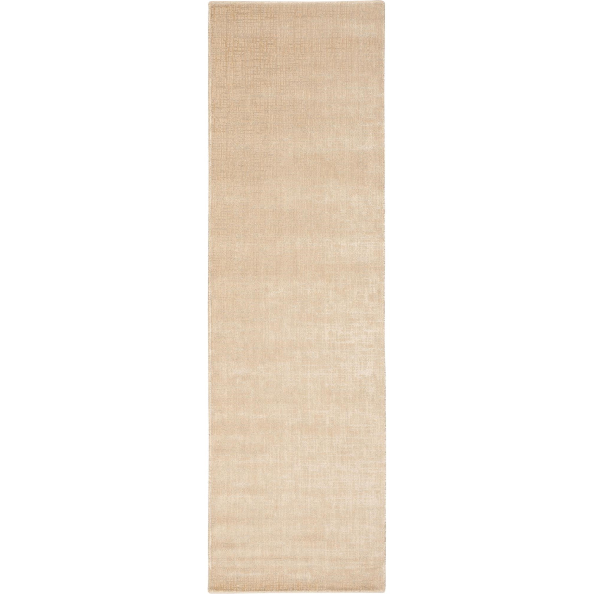 """Nourison Starlight 2'3"""" x 8' Oyster Area Rug - Item Number: 18767"""