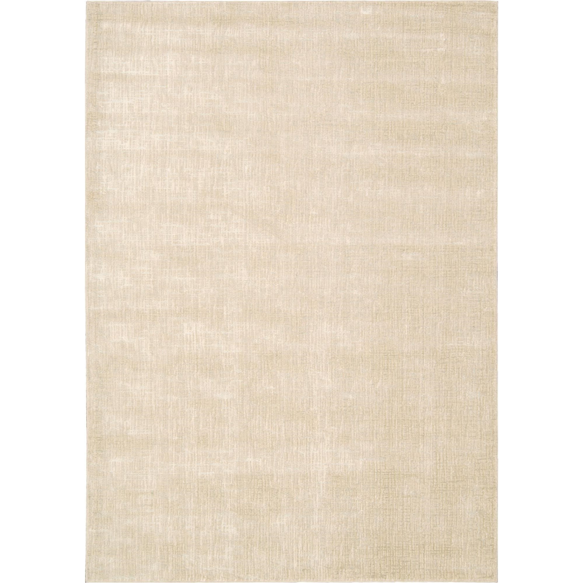 "Nourison Starlight 7'6"" x 10'6"" Oyster Area Rug - Item Number: 18774"