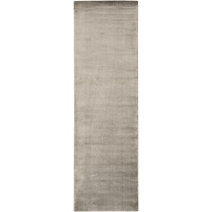 "Nourison Starlight 2'3"" x 8' Pewter Area Rug"