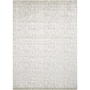 "Nourison Starlight 5'3"" x 7'5"" Pewter Rectangle Rug"