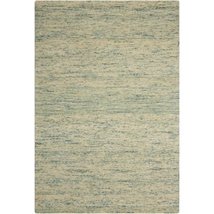 "Nourison Sterling 2'6"" x 4' Seafoam Rectangle Rug"