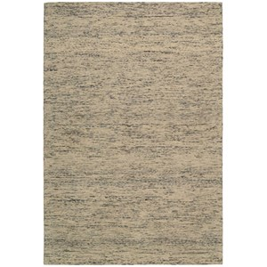 Nourison Sterling 4' x 6' Silver Rectangle Rug