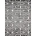 "Nourison Studio 5'3"" x 7'3"" Grey Rectangle Rug - Item Number: STU01 GRY 53X73"