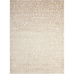 "Nourison Studio 7'10"" x 10'6"" Almond Rectangle Rug"