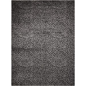 "Nourison Studio 7'10"" x 10'6"" Charcoal Rectangle Rug"