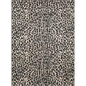 """Nourison Studio 7'10"""" x 10'6"""" Ivory/Black Rectangle Rug - Item Number: STU04 IVBLK 710X106"""