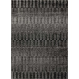 "Nourison Studio 3'11"" x 5'3"" Smoke Rectangle Rug"