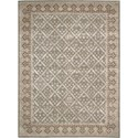 Nourison Symphony 8' x 11' Light Green Area Rug - Item Number: 02297