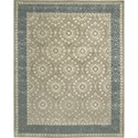 "Nourison Symphony 7'6"" x 9'6"" Taupe Area Rug - Item Number: 02348"