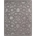 "Nourison Symphony 5'6"" x 7'5"" Dove Area Rug - Item Number: 03110"
