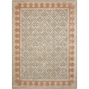 Nourison Symphony 8' x 11' Light Green Rectangle Rug