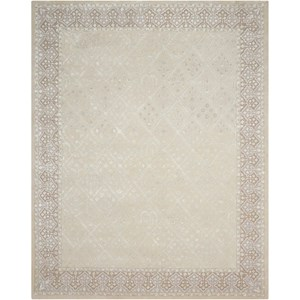 "Nourison Symphony 7'6"" x 9'6"" Sand Rectangle Rug"
