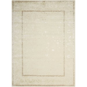 "Nourison Symphony 9'6"" x 13' Ivory Rectangle Rug"