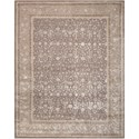 "Nourison Symphony 7'6"" x 9'6"" Grey Rectangle Rug - Item Number: SYM04 GRY 76X96"