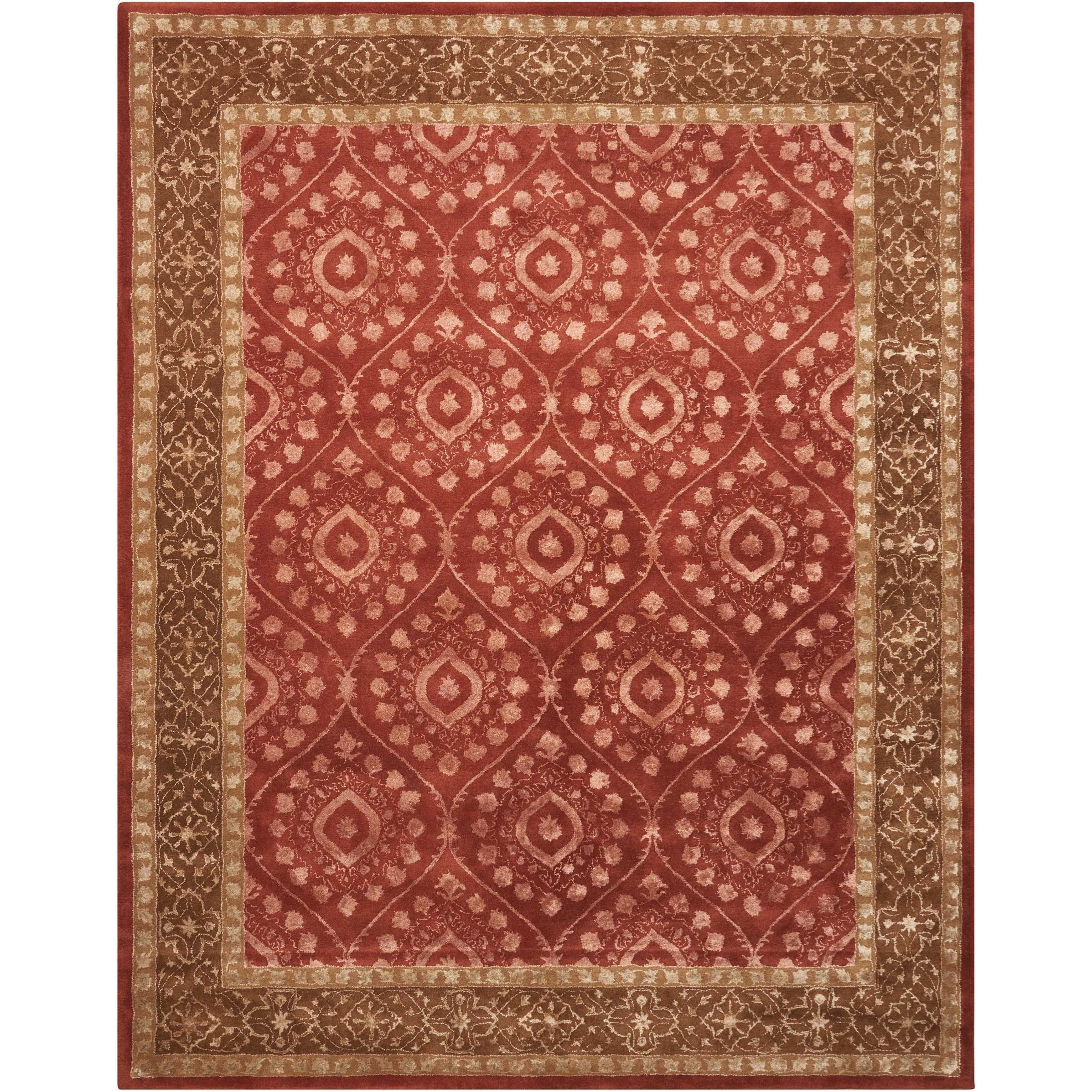 8' x 11' Ruby Rectangle Rug