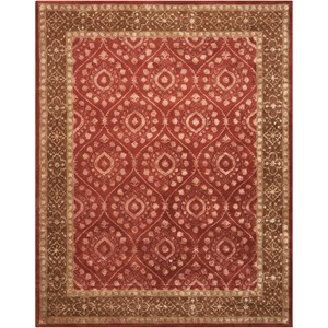 Nourison Symphony 8' x 11' Ruby Rectangle Rug