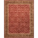 Nourison Symphony 8' x 11' Ruby Rectangle Rug - Item Number: SYM06 RUB 8X11