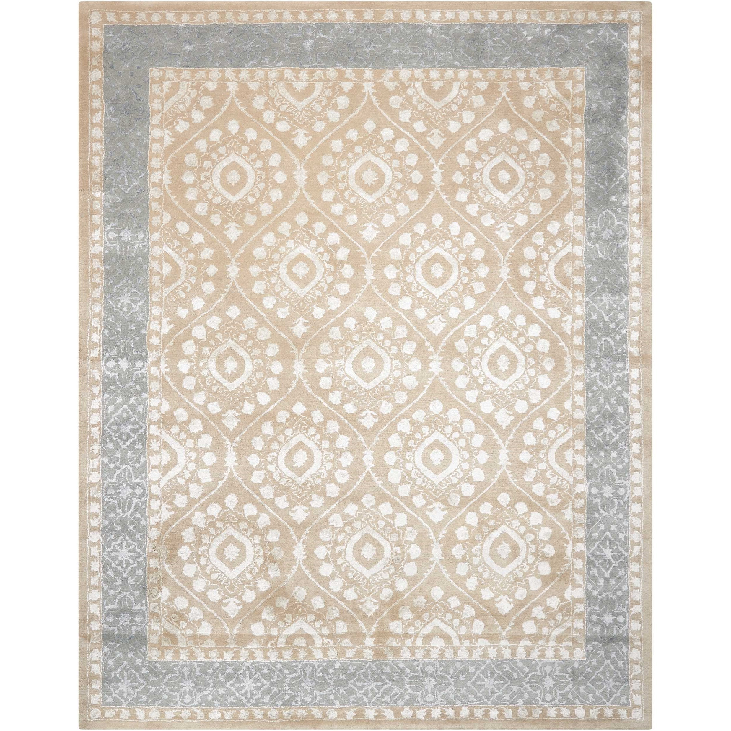 "3'6"" x 5'6"" Taupe Rectangle Rug"