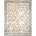 "Nourison Symphony 9'6"" x 13' Taupe Rectangle Rug - Item Number: SYM07 TAU 96X13"