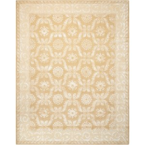 """7'6"""" x 9'6"""" Gold Rectangle Rug"""