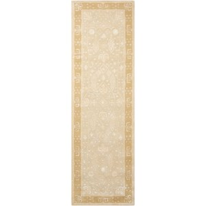 "2'3"" x 8' Gold Oak Runner Rug"