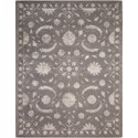 Nourison Symphony 8' x 11' Dove Rectangle Rug - Item Number: SYM10 DOVE 8X11