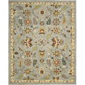 "Nourison Tahoe 3'9"" x 5'9"" Seaglass Area Rug - Item Number: 18020"