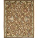 "Nourison Tahoe 5'6"" x 8'6"" Penny Area Rug - Item Number: 18030"