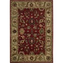 "Nourison Tahoe 5'6"" x 8'6"" Red Area Rug - Item Number: 33739"