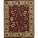 "Nourison Tahoe 7'9"" x 9'9"" Red Area Rug - Item Number: 33757"