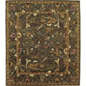 "Nourison Tahoe 7'9"" x 9'9"" Charcoal Area Rug - Item Number: 33766"
