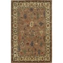 "Nourison Tahoe 3'9"" x 5'9"" Copper Area Rug - Item Number: 62324"