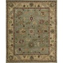 "Nourison Tahoe 9'9"" x 13'9"" Green Area Rug - Item Number: 62522"