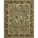"Nourison Tahoe 3'9"" x 5'9"" Green Area Rug - Item Number: 68909"