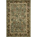 "Nourison Tahoe 5'6"" x 8'6"" Green Area Rug - Item Number: 68945"