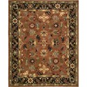 "Nourison Tahoe 7'9"" x 9'9"" Rust Area Rug - Item Number: 68972"