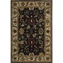 "Nourison Tahoe 3'9"" x 5'9"" Black Area Rug - Item Number: 77254"