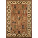 "Nourison Tahoe 5'6"" x 8'6"" Copper Rectangle Rug - Item Number: TA05 COP 56X86"