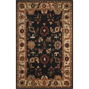 "Nourison Tahoe 9'9"" x 13'9"" Black Rectangle Rug"